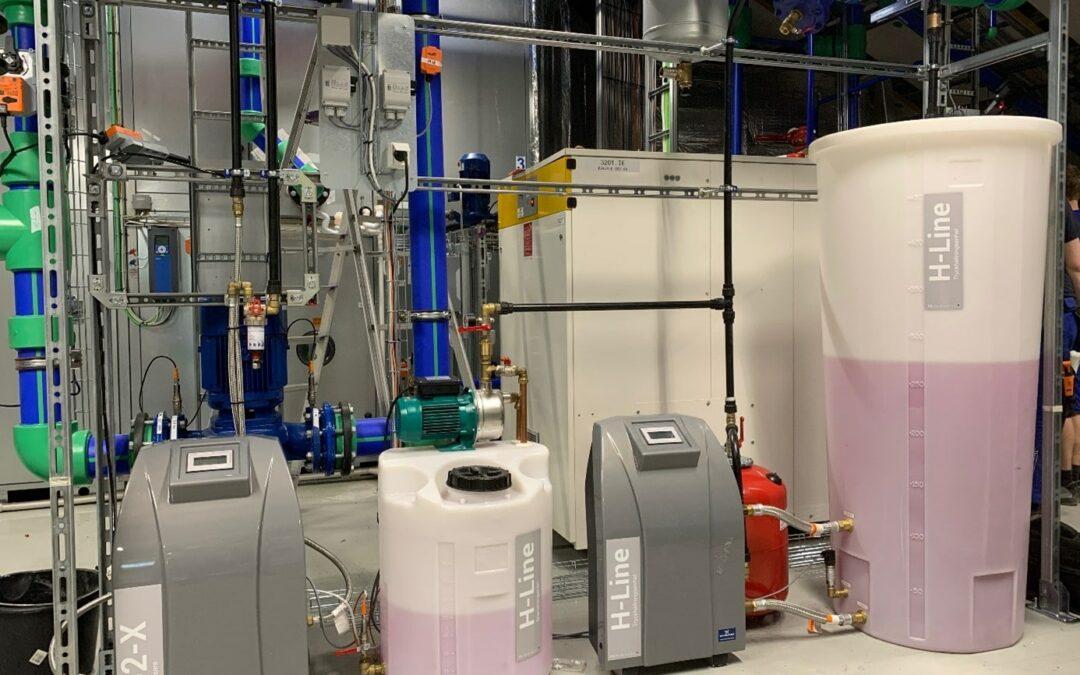 Energiåtervinningssystem för pulverlackanläggning